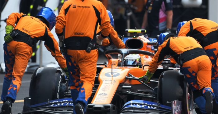 Cross-threaded wheelnut blamed for Norris' botched stop