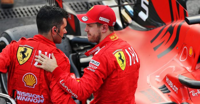 Sebastian Vettel denies 'major mistakes' in Mexico