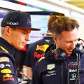 Christian Horner and Max Verstappen react to RB16's first outing.