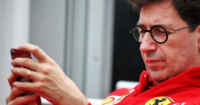 "Mattia Binotto says the 2021 regulations reveal was only the ""starting point""."