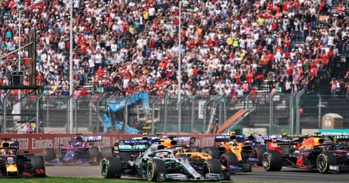 F1 reports third quarter revenue rise.