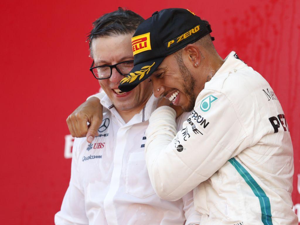 Peter Bonnington returns as Lewis Hamilton's race engineer a race early.