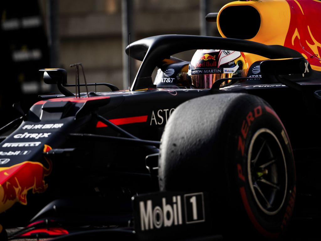 Max Verstappen in his Red Bull