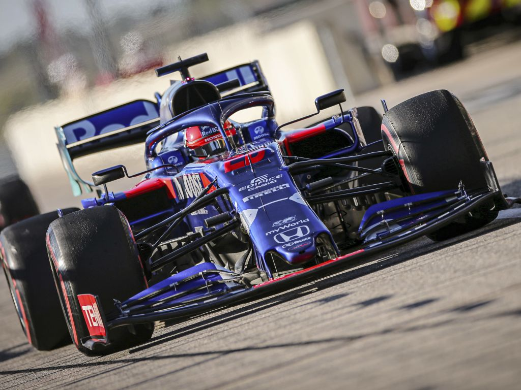Daniil Kvyat given five-second penalty for causing collision with Sergio Perez at United States GP.