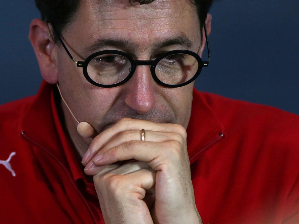 "Mattia Binotto admits Ferrari ""screwed up"" Charles Leclerc's Q3 in Abu Dhabi."