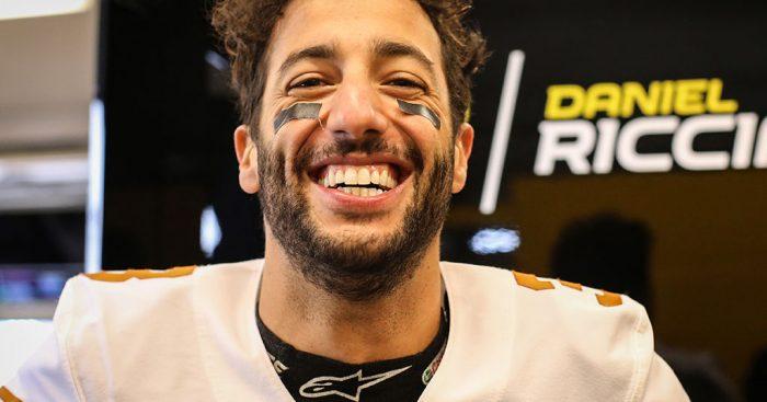 "Daniel Ricciardo warns Toro Rosso it's ""game on"" in Abu Dhabi."