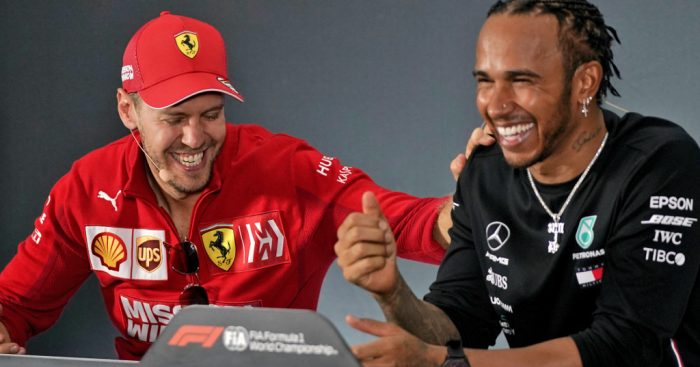 Lewis Hamilton: Sebastian Vettel respect means a huge amount