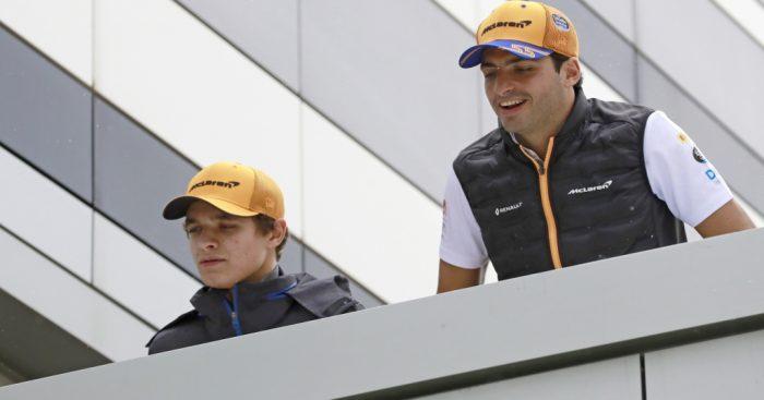 """Magic"" Carlos Sainz and Lando Norris drove like ""future World Champions"" says Zak Brown."