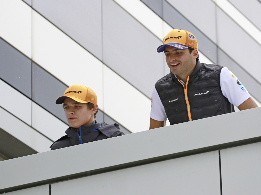 """Magic"" Carlos Sainz and Lando Norris drove like ""future World Champions"" says Zak Brown."