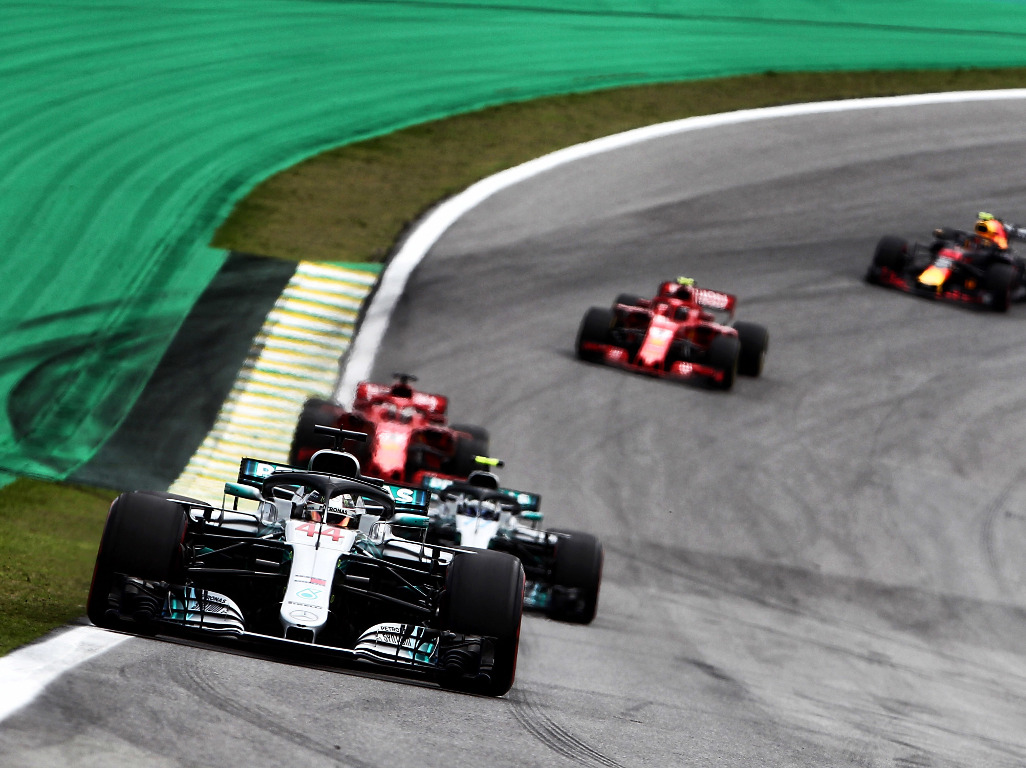 Lewis Hamilton leads Brazil 2008
