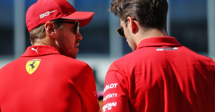 "Sebastian Vettel says beating Charles Leclerc in the Drivers' Championship is ""not important""."