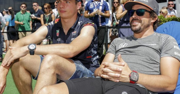 Fernando Alonso names Max Verstappen as the best driver in F1.