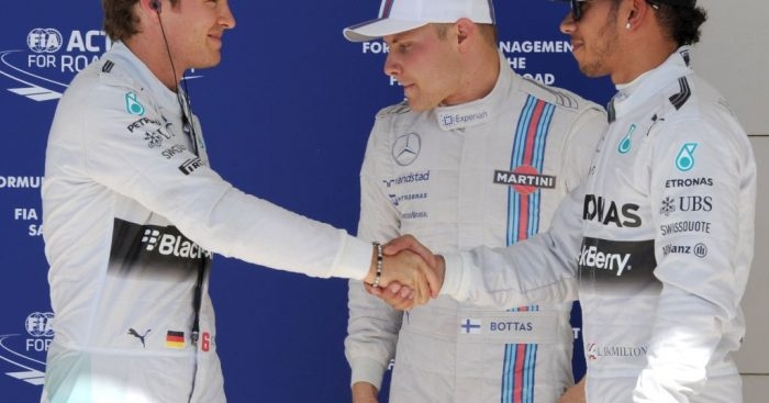 """Valtteri Bottas again reminded everyone that he's """"not Nico Rosberg"""" and won't resort to mind games against Lewis Hamilton."""