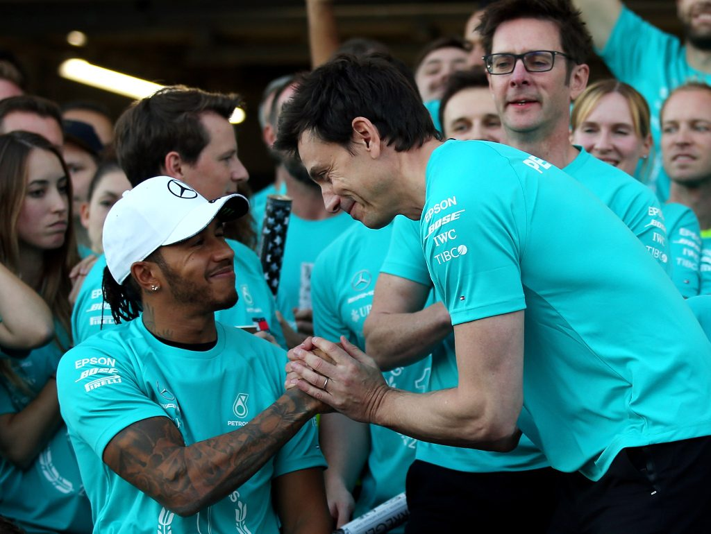 Lewis Hamilton and Mercedes nominated for Laureus Awards.