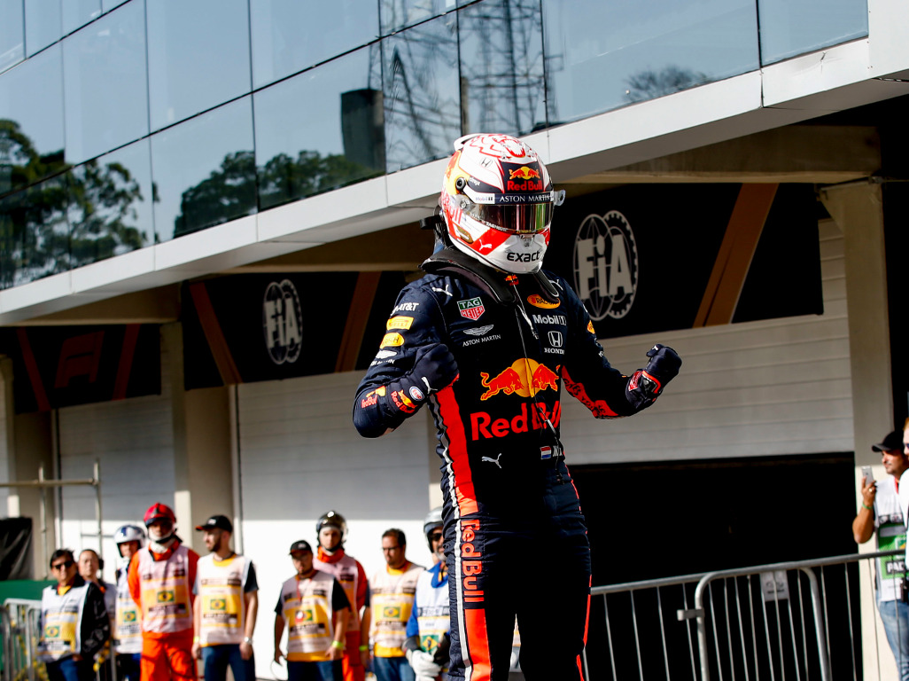 Race: Max Verstappen banishes Esteban Ocon memories with Brazil win