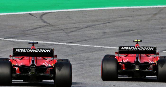 The driver dynamic at Ferrari won't improve until Sebastian Vettel leaves.