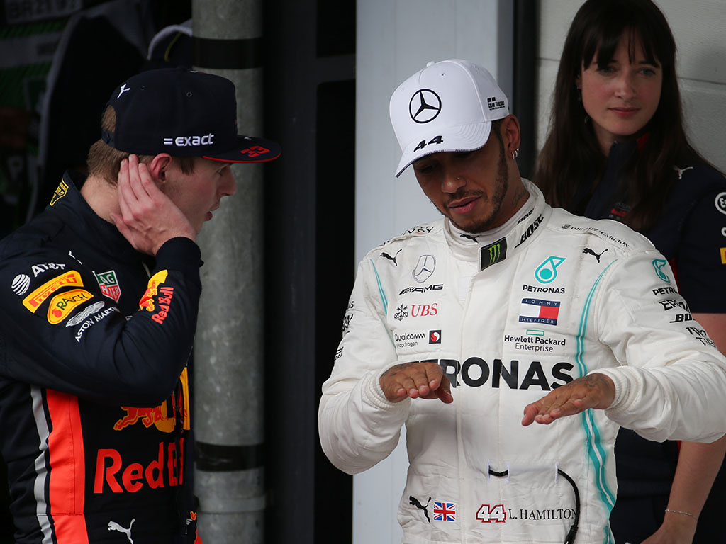 "Lewis Hamilton says the future of F1 is bright, but warns he is still ""kicking it"" against the young guns."