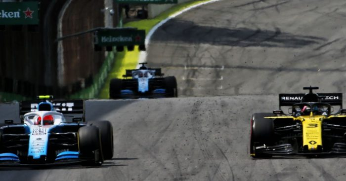 Daniel Ricciardo and Robert Kubica earn five-second time penalties and two superlicence points for their respective incidents in Brazil.