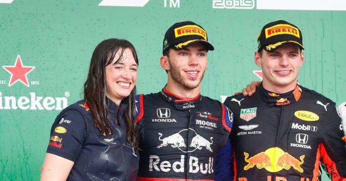 Christian Horner: All credit goes to Hannah
