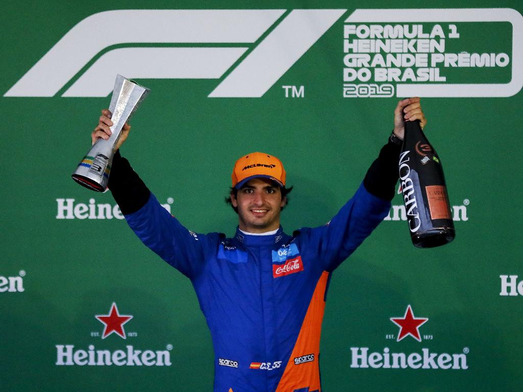 Carlos-Sainz-Brazil-podium-PA