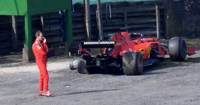 Sebastian Vettel leads Charles Leclerc in the 2019 error chart.