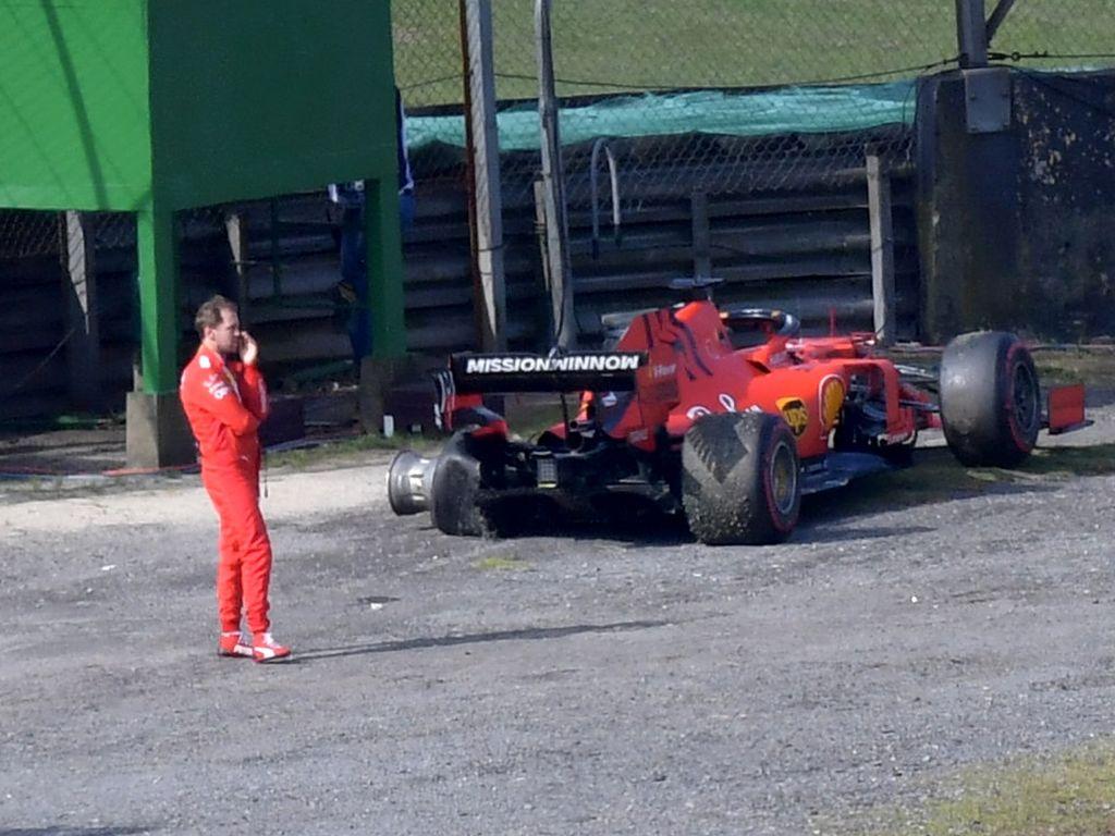 Sebastian Vettel leads Charles Leclerc in the 2019 error chart.