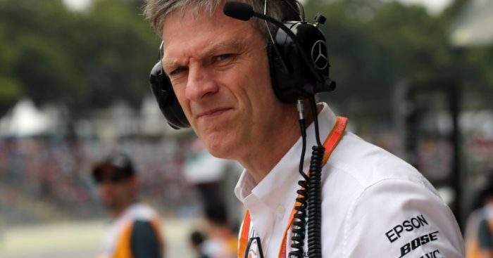 Mercedes technical boss James Allison