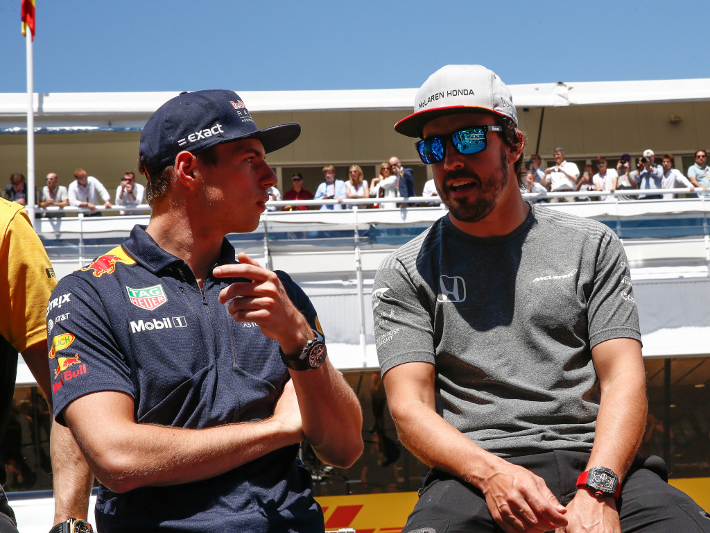 Max Verstappen rates Fernando Alonso as one of the best