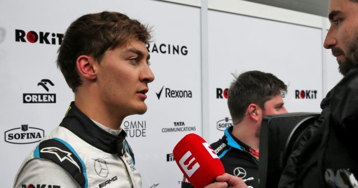George Russell concedes first point 'wasn't meant to be'