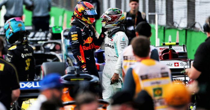 Alex Albon says Lewis Hamilton sent him a message to apologise again for the Brazilian GP incident.
