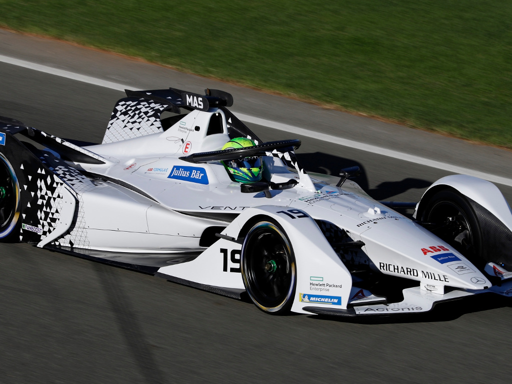 Chase Carey doesn't see Formula E as a rival to Formula 1.
