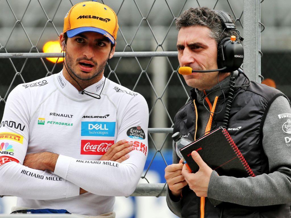 McLaren team boss hails 'engineer' Carlos Sainz