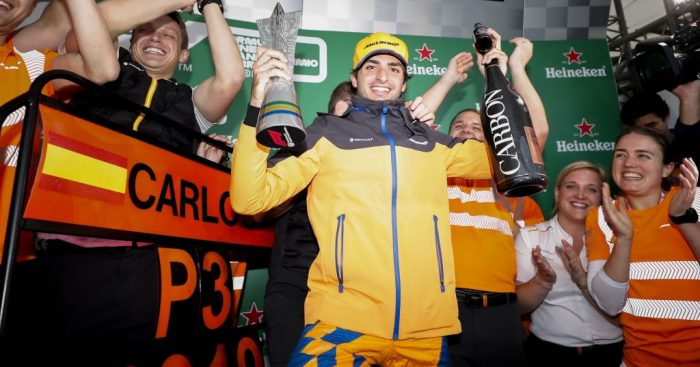 Carlos Sainz is looking nowhere beyond McLaren for 2021.