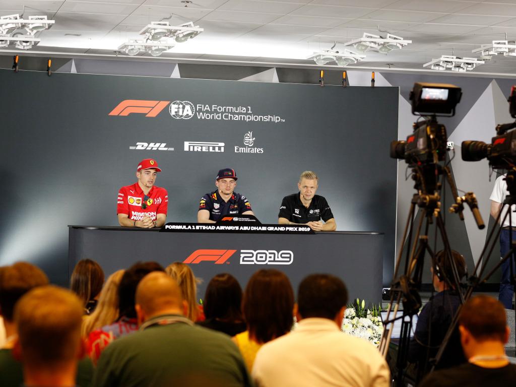 Thursday's FIA press conference: Abu Dhabi part 1