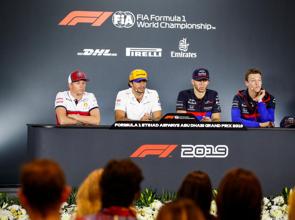 Thursday's FIA press conference: Abu Dhabi part 2