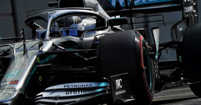 FP1: Bottas quickest while Ricciardo went bang