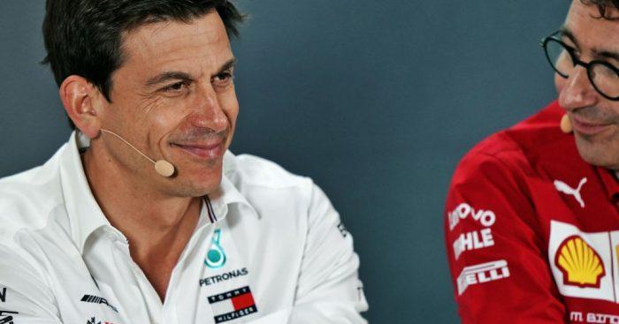 Ferrari against key team personnel running F1.