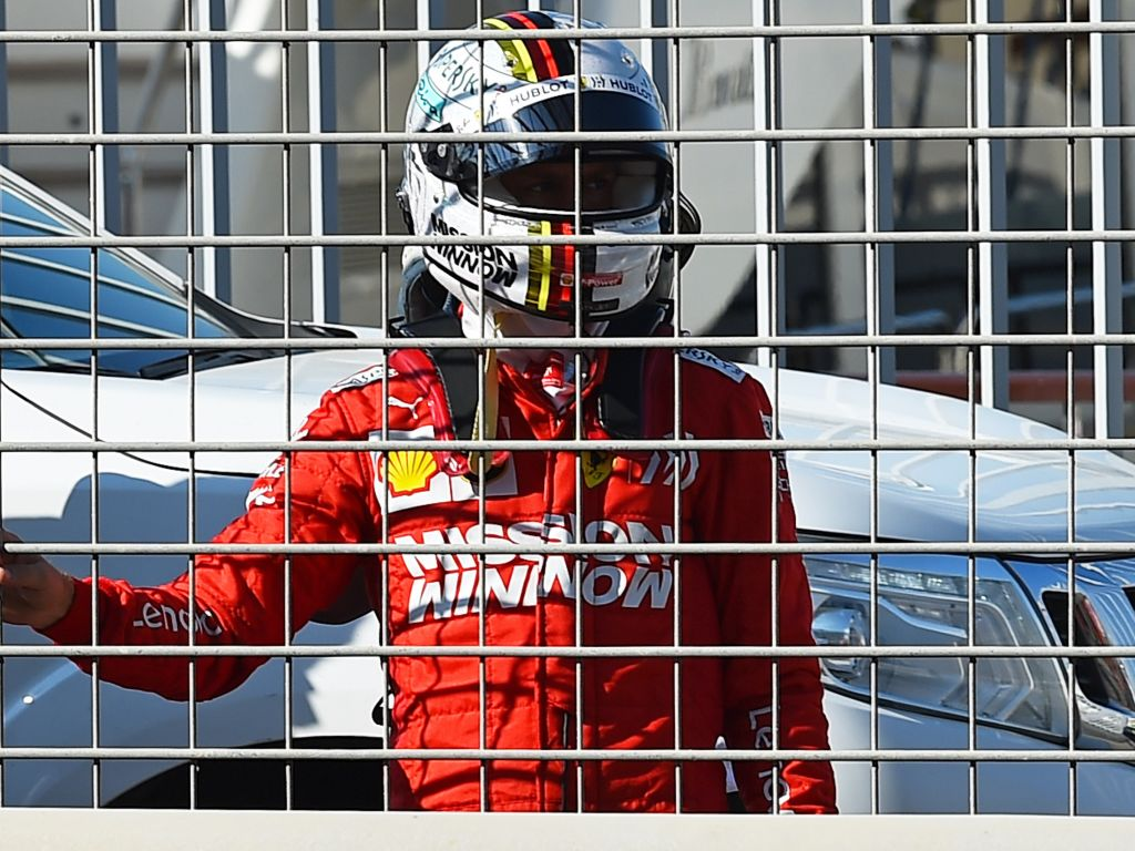 Nobody to blame for Charles Leclerc getting timed out in Q3 says Sebastian Vettel.