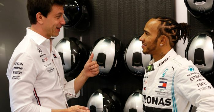 "Toto Wolff says he and Lewis Hamilton ""don't like"" the new contract talks because they are friends."