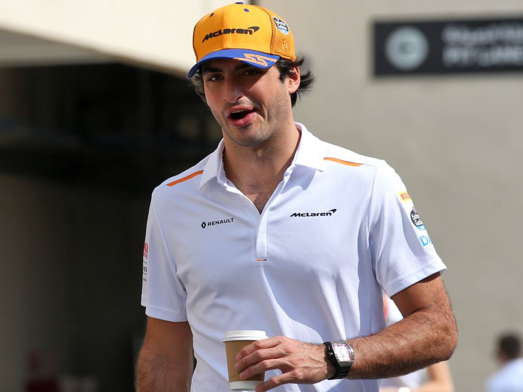 """Carlos Sainz says his last-lap battle to secure P6 in the Drivers' standings felt like a """"World Championship"""" battle."""