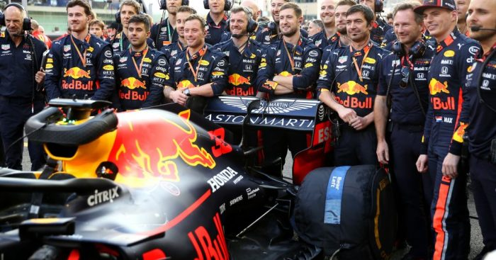 Red Bull are two weeks ahead of schedule with their 2020 car says Helmut Marko.