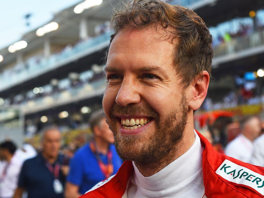 Sebastian Vettel mocks himself and Lewis Hamilton to Ferrari rumours.