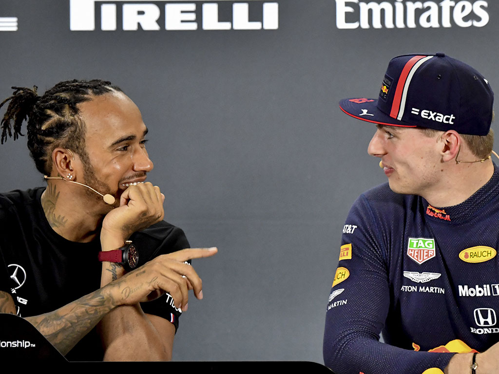 Lewis Hamilton says Max Verstappen, and every other driver, are calling Toto Wolff about driving for Mercedes.