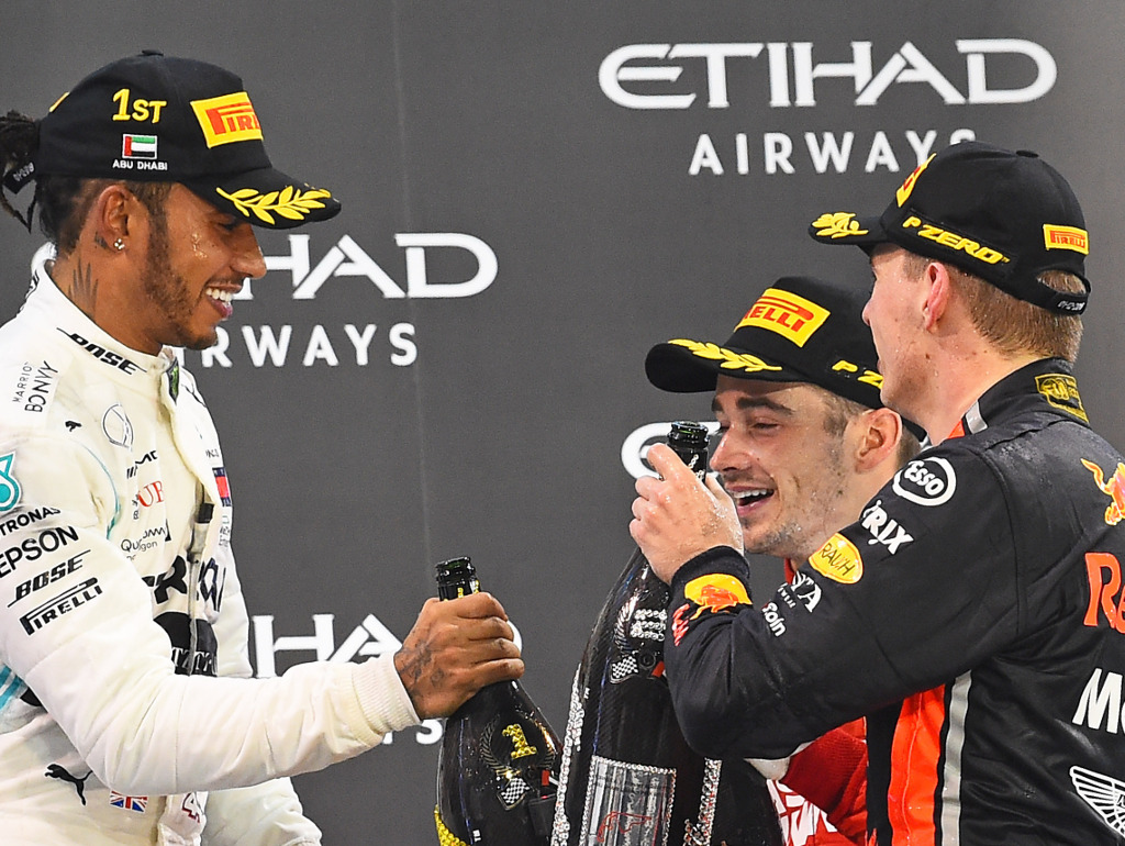 Lewis Hamilton 'privileged' to be racing young stars