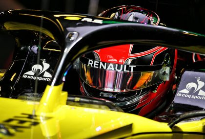 Renault boss Cyril Abiteboul says the Renault engine matches Ferrari for power.