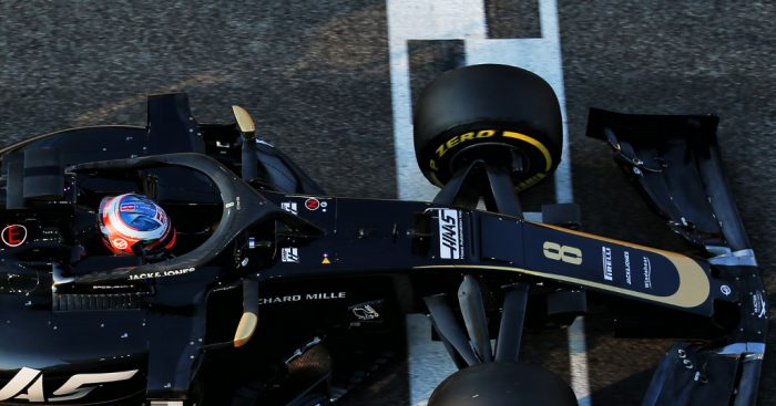 Grosjean: Not the tyres you would dream of