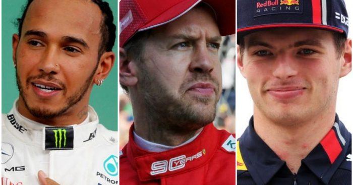 F1 2019: Mercedes Ferrari Red Bull