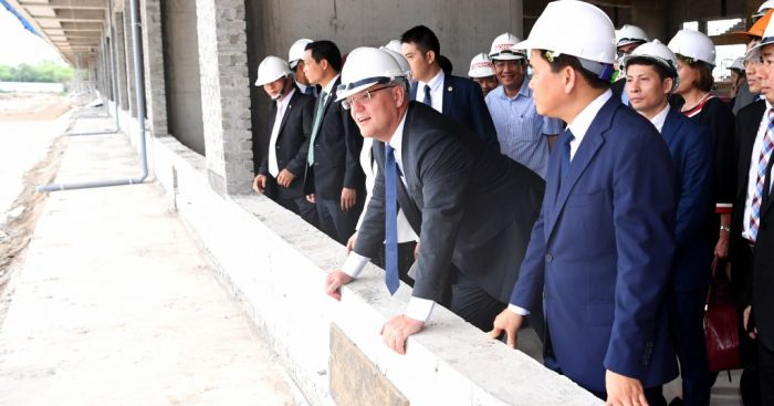 Vietnam GP organisers say the track will be ready by the end of the year.
