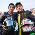 """Mercedes praise Valentino Rossi's """"meticulous"""" approach to Valencia test."""