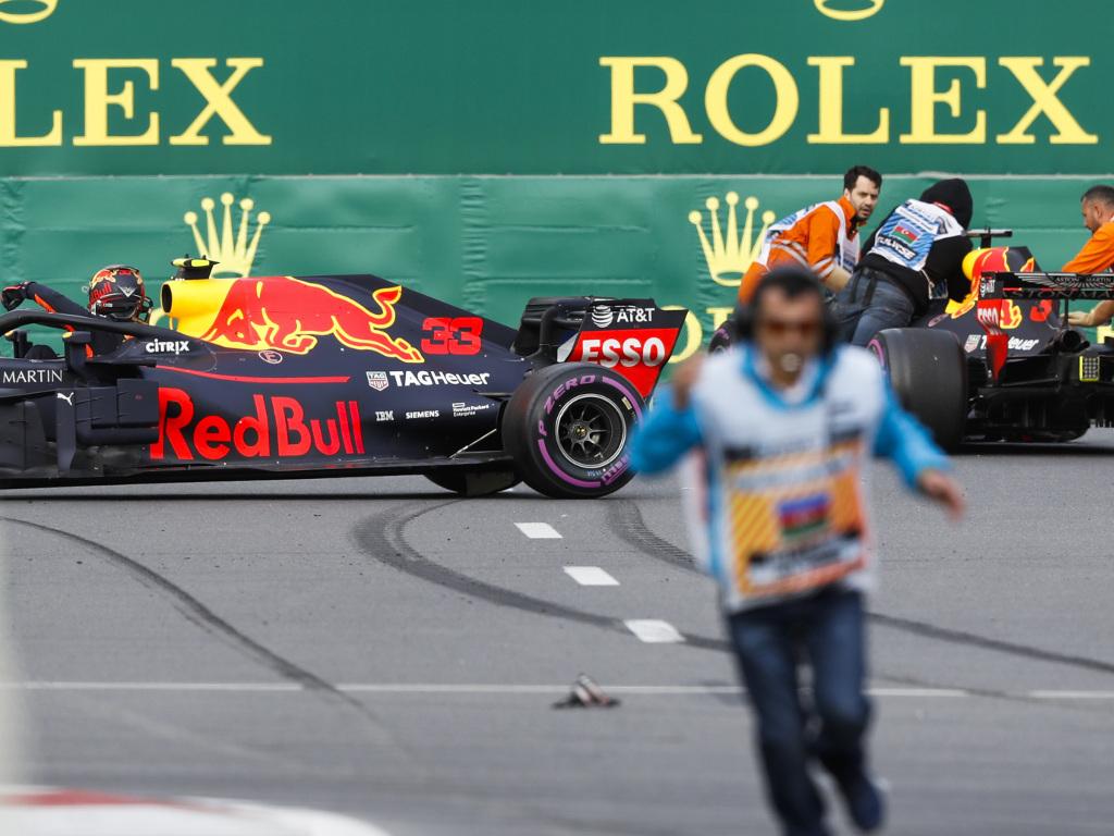 Daniel Ricciardo was like 'f*** you guys' after Baku clash